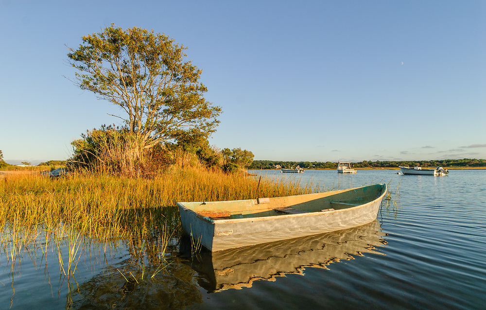 South Fork, Springs, Accabonac Harbor, Long Island, New York