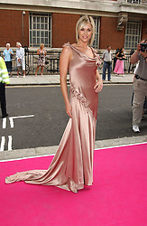 TV presenter JENNI FALCONER  at a charity event 'In The Pink' a night of music and fashion in aid of the Breast Cancer Haven in association with fashion designer Catherine Walker held at the Cadogan Hall, Sloane Terrace, London on 20th June 2005.<br /><br />NON EXCLUSIVE - WORLD RIGHTS