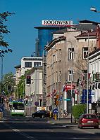 03.05.2012 Bialystok N/z ulica Legionowa w glebi  fot Michal Kosc / AGENCJA WSCHOD