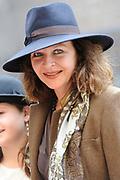 Prinsjesdag 2014 - Aankomst Politici op het Binnenhof.<br /> <br /> Op de foto:  Minister Edith Schippers (VWS)