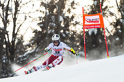 Julia Scheib (AUT) during the Ladies' Giant Slalom at 57th Golden Fox event at Audi FIS Ski World Cup 2020/21, on January 17, 2021 in Podkoren, Kranjska Gora, Slovenia. Photo by Vid Ponikvar / Sportida
