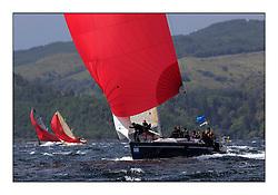 Brewin Dolphin Scottish Series 2011, Tarbert Loch Fyne - Yachting - Day 2 of the 4 day series. Windy!..GBR9192R ,Eos ,Rod Stuart ,CCC/PEYC ,Elan 410.