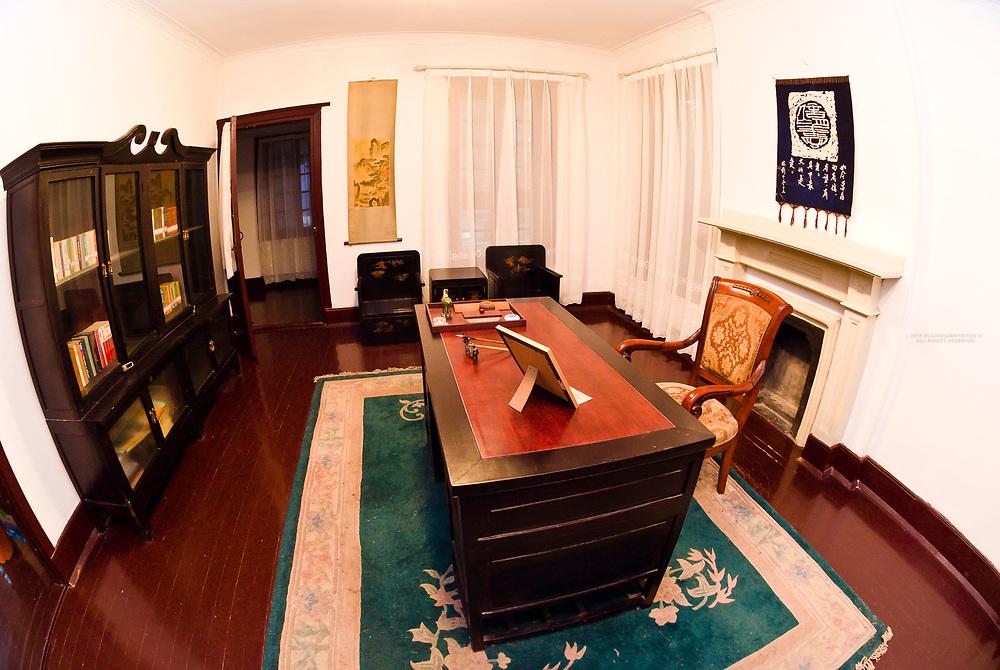 Study, Author Pearl S. Buck's former residence, Zhenjiang, China