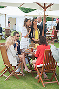 HUGO TAYLOR; MELISSA MILLS; SASKIA BOXFORD, Cartier Queen's Cup. Guards Polo Club, Windsor Great Park. 17 June 2012