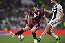 May 3, 2019 - Torino, Torino, Italia - Foto LaPresse - Fabio Ferrari.03 Maggio 2019 Torino, Italia .Sport.Calcio.ESCLUSIVA TORINO FC.Juventus Fc vs Torino Fc - Campionato di calcio Serie A TIM 2018/2019 - Allianz Stadium..Nella foto:Andrea Belotti (Torino Fc); ..Photo LaPresse - Fabio Ferrari.May 03, 2019 Turin, Italy.sport.soccer.EXCLUSIVE TORINO FC.Juventus Fc vs Torino Fc - Italian Football Championship League A TIM 2018/2019 - Allianz Stadium..In the pic:Andrea Belotti  (Credit Image: © Fabio Ferrari/Lapresse via ZUMA Press)
