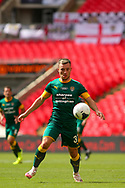 Notts County striker Callum Roberts (37) during the Vanarama National League Promotion Final match between Harrogate Town and Notts County at Wembley Stadium, London, England on 2 August 2020.