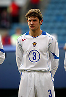 Fotball, 28. april 2004, Privatlandskamp, Norge-Russland 3-2, Dmitri Sennikov, Russland, portrett