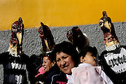 """The celebrations in Pisac for the virgin of El Carmen take place every year. People from the area dress up in traditional costumes such as condors. <br /> <br /> This essay is about the commercialization of the Incan culture in Cusco, Machu Picchu and all of the other towns and ruins that are part of the Incan Sacred Valley in the Andes of Peru.  Because of the large quantity of tourists that visit the sites year round, many natives have built their businesses around tourism. Everything """"Incan"""" is offered and sold to tourists and tour guides invade every corner of this sacred sites."""