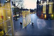 Nederland, Nijmegen,18-12-2013Bioscoop, filmtheater Lux. Uitzicht op het Marienburgplein.Foto: Flip Franssen/Hollandse Hoogte