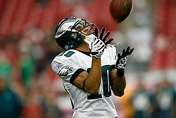 18 Jan 2009: Philadelphia Eagles wide receiver DeSean Jackson #10 catches a pass before the NFC Championship game against the Arizona Cardinals on January 18th, 2009. The Cardinals won 32-25 at University of Phoenix Stadium in Glendale, Arizona. (Photo by Brian Garfinkel)