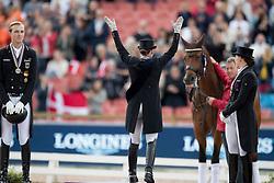 Werth Isabell, GER, Rothenberger Soneke, GER, Dufour Catherine, DEN<br /> FEI European Dressage Championships - Goteborg 2017 <br /> © Hippo Foto - Dirk Caremans