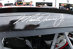 June 3, 2018 - Long Pond, PA, U.S. - LONG POND, PA - JUNE 03:   Drivers signature the Martin Truex Jr. (78) the Bass Pro Shops/5-hour Energy Toyota prior to the Monster Energy NASCAR Cup Series - Pocono 400 on June 3, 2018 at Pocono Racewayin Long Pond, PA.  (Photo by Rich Graessle/Icon Sportswire) (Credit Image: © Rich Graessle/Icon SMI via ZUMA Press)