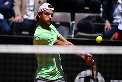 May 16, 2019 - Roma, Italia - Foto Alfredo Falcone - LaPresse.16/05/2019 Roma ( Italia).Sport Tennis.Internazionali BNL d'Italia 2019.Roger Federer (sui) vs Joao Sousa (por).Nella foto:Joao Sousa..Photo Alfredo Falcone - LaPresse.16/05/2019 Roma (Italy).Sport Tennis.Internazionali BNL d'Italia 2019.Roger Federer (sui) vs Joao Sousa (por).In the pic:Joao Sousa (Credit Image: © Alfredo Falcone/Lapresse via ZUMA Press)