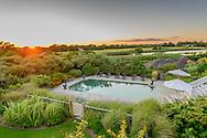 Pool, Sunset, Lily Pond Lane, East Hampton, NY