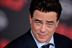 Benicio del Toro attends the world premiere of Disney Pictures and Lucasfilm's 'Star Wars: The Last Jedi' at The Shrine Auditorium on December 9, 2017 in Los Angeles, CA, USA. Photo by Lionel Hahn/ABACAPRESS.COM