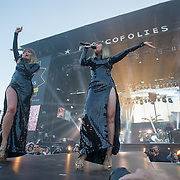 Concert des Brigitte aux francofolies de La Rochelle 2015
