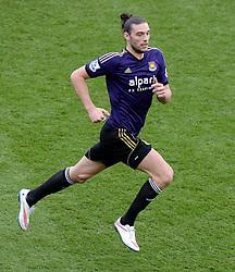 West Ham's Andy Carroll - Photo mandatory by-line: Alex James/JMP - Mobile: 07966 386802 - 25/01/2015 - SPORT - Football - Bristol - Ashton Gate - Bristol City v West Ham United - FA Cup Fourth Round