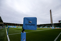 A general view of Franklin's Gardens, home to Northampton Saints - Mandatory by-line: Robbie Stephenson/JMP - 04/09/2020 - RUGBY - Franklin's Gardens - Northampton, England - Northampton Saints v Exeter Chiefs - Gallagher Premiership Rugby