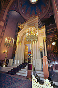 Eastern Europe, Hungary, Budapest, Interior of the Dohany Street Synagogue