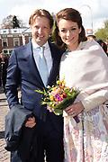 De koninklijke familie is in Zwolle voor de viering van Koningsdag. /// The royal family is in Zwolle for the celebration of King's Day.<br /> <br /> Op de foto / On the photo:  Prins Maurits en prinses Marilene
