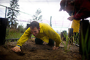 """""""Crawl like a worm!"""" barks veteran Travis Dotson, repeatedly, at rookie Andrew Harris as he scrambles under chicken wire on McCall's obstacle course. The US Forest Service lays out very demanding physical fitness requirements for its crew. All new recruits are required to pass a five-week training session that rivals a military boot camp."""