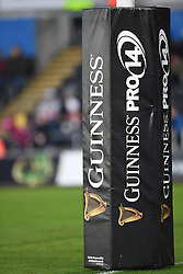 Guiness Pro14<br /> <br /> Photographer Mike Jones/Replay Images<br /> <br /> Guinness PRO14 Round Round 16 - Ospreys v Cheetahs - Saturday 24th February 2018 - Liberty Stadium - Swansea<br /> <br /> World Copyright © Replay Images . All rights reserved. info@replayimages.co.uk - http://replayimages.co.uk