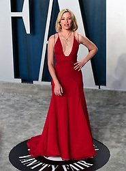 Elizabeth Banks attending the Vanity Fair Oscar Party held at the Wallis Annenberg Center for the Performing Arts in Beverly Hills, Los Angeles, California, USA.