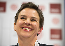 © Licensed to London News Pictures. 06/06/2015. London, UK. MARY CREAGH speaking.  Current Labour Leadership candidates attend a debate at the Fabien Society Conference, held at the institute of Education in London. Photo credit: Ben Cawthra/LNP