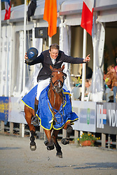 Brocks Karel (GER) - Lamarque 7<br /> Winner Final 7 years old horses<br /> World Championship Young Horses Lanaken 2009<br /> © Hippo Foto - Leanjo de Koster