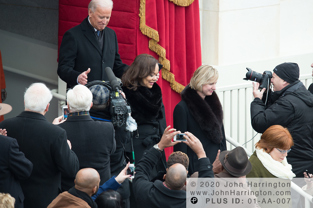Vice President Biden arrives at the 57th Presidential Inauguration of President Barack Obama at the U.S. Capitol Building in Washington, DC January 21, 2013.