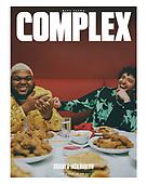 September 27, 2021 - WORLDWIDE: Druski & Jack Harlow Cover Complex Magazine