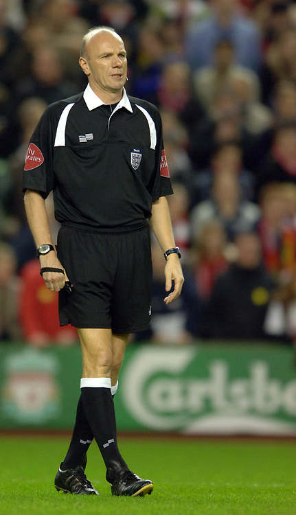 Photo: Paul Greenwood.<br />Liverpool v Arsenal. The FA Cup. 06/01/2007. Match Referee Steve Bennett whom Arsenal manager Arsene Wenger criticised mid week.