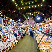Interior of the Central Market in Historic Downtown Lancaster, Pennsylvania