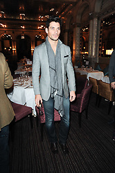 DAVID GANDY at a party to celebrate the 135th anniversary of The Criterion restaurant, Piccadilly, London held on 2nd February 2010.