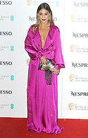 Louise Thompson, British Academy Film Awards Nespresso Nominees' Party - Arrivals, Kensington Palace, London UK, 11 February 2017, Photo by Brett D. Cove