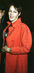 MRS BRIAN FERRY wife of the rock star,  at a party in London on 8th May 1997.LYF 66 WO