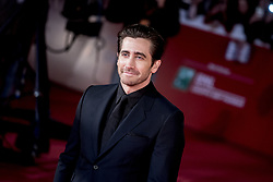 October 28, 2017 - Rome, Italy - Actor Jake Gyllenhaal arrives on the red carpet of the film 'Stronger' at the Rome Film Fest in Rome, Saturday, Oct. 28, 2017. (Credit Image: © Massimo Valicchia/NurPhoto via ZUMA Press)