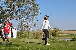 August 23, 2018 - Regina, SK, U.S. - REGINA, SK - AUGUST 23: Lydia Ko (NZL) heads down 12 during the CP Women's Open Round 1 at Wascana Country Club on August 23, 2018 in Regina, SK, Canada. (Photo by Ken Murray/Icon Sportswire) (Credit Image: © Ken Murray/Icon SMI via ZUMA Press)