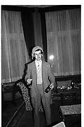 Tommy Leigh-Pemberton, ,  St Moritz 1985© Copyright Photograph by Dafydd Jones 66 Stockwell Park Rd. London SW9 0DA Tel 020 7733 0108 www.dafjones.com
