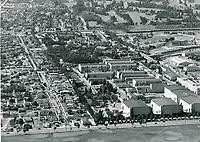 1948 Aerial of Fox Movietone Studios in West Los Angeles