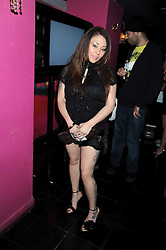 Singer  Mutya Buena at the launch party of the Nokia 5800 phone held at PUNK 14 Soho Street, London W1 on 27th January 2009.