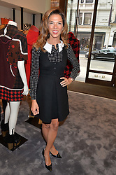 HEATHER KERZNER at a lunch hosted by Alice Naylor-Leyland and Tamara Beckwith in celebration of the Coach 2015 collection held at Coach, New Bond Street, London on 18th September 2014.