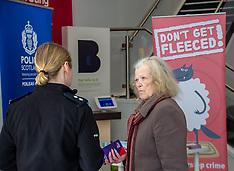 Shut out scammers campaign, Edinburgh, 15 April 2019