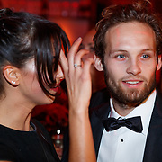 NLD/Amsterdam/20181121 - Premiere Palazzo 2018, Daley Blind en partner Candy-Ray Fleur