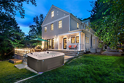 5813 Surrey Home Rear Twilight new hot tub VA 2-174-311