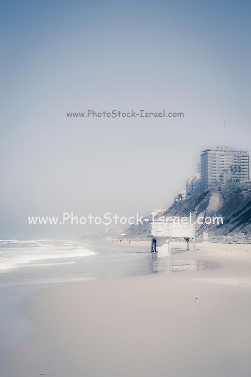 The Natanya beach, Israel