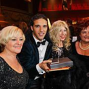 NLD/Amsterdam/20121019- Televiziergala 2012, Corry Konings, Ali B., Bonnie St. Clair, Imca Marina