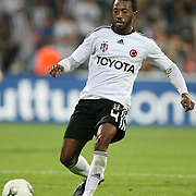 Besiktas's Manuel FERNANDES during their UEFA Europa League Play-Offs first leg match soccer match Besiktas between Alania Vladikavkaz at Inonu stadium in Istanbul Turkey on Thursday August 18, 2011. Photo by TURKPIX
