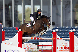 Madden Beezie (USA) - Coral Reef Via Volo <br /> WEF Challenge Round III <br /> Wellington 2012<br /> © Hippo Foto - Cealy Tetly