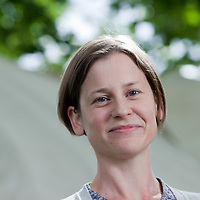 Frances Larson, anthropologist and writer, at the Edinburgh International Book Festival 2015.<br /> Edinburgh, Scotland. 28th August 2015 <br /> <br /> Photograph by Gary Doak/Writer Pictures<br /> <br /> WORLD RIGHTS